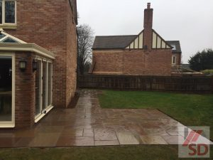 Indian Sandstone Patio Bristol