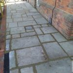 Almondsbury Patio Slabbing
