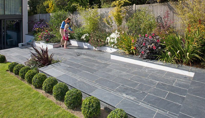 Slate patio Bristol