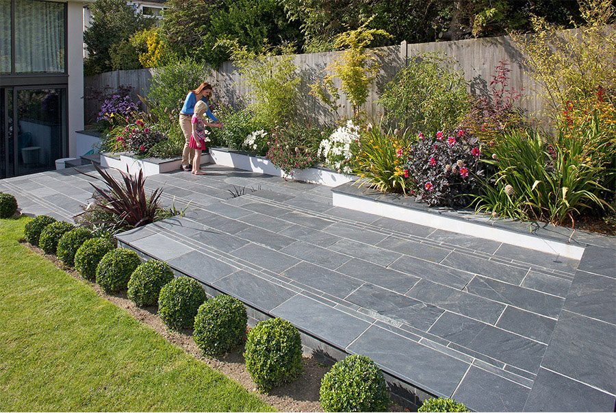 Slate Patio Installations In Bristol And South