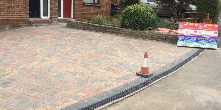 Paving in Horfield, Bristol