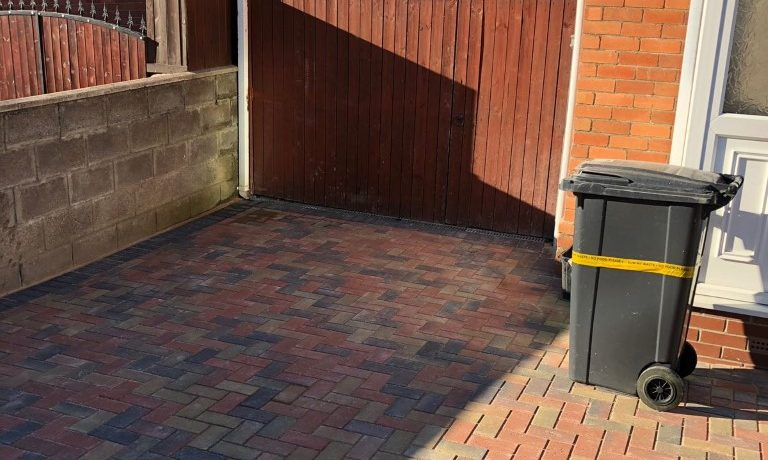 Bristol Driveway Installation With Dropped Kerb