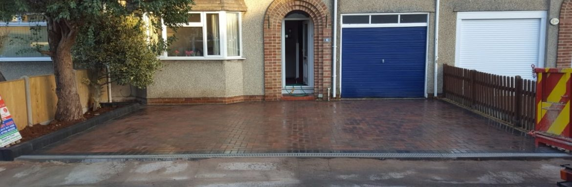 New Block Paved Driveway Installed in Bristol