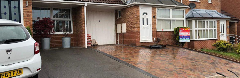 New Block Paving Driveway Laid in Longwell Green, Bristol