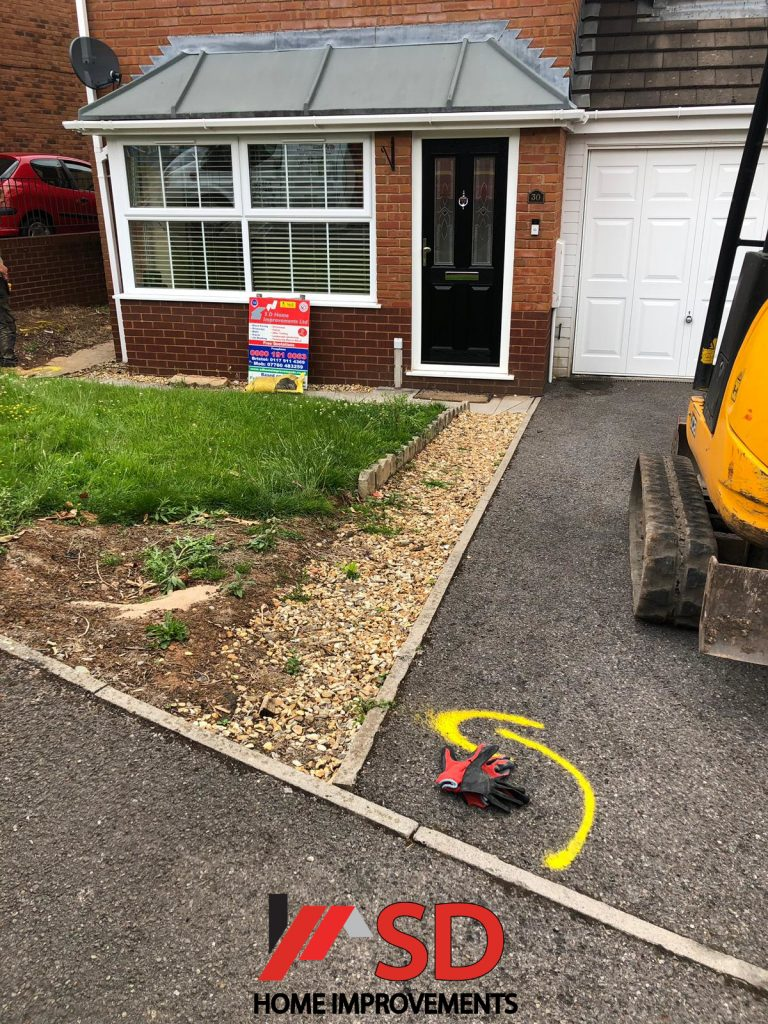 New Driveway With Block Paving