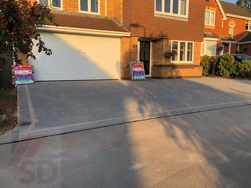 New Driveway Block Paved by SD Home Improvements in Yate, Bristol