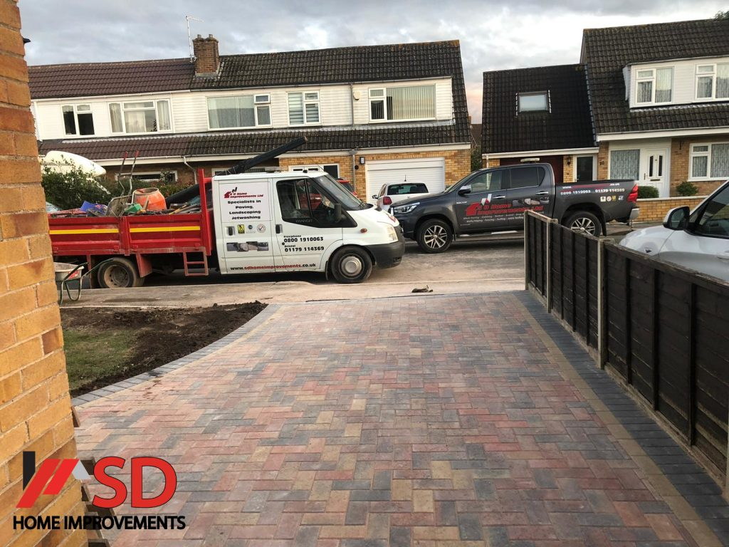 Driveway Installation With Paving Near Bristol City