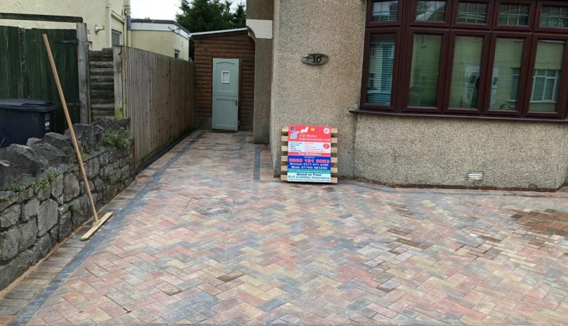 Block Paving Driveway in Weston-super-Mare