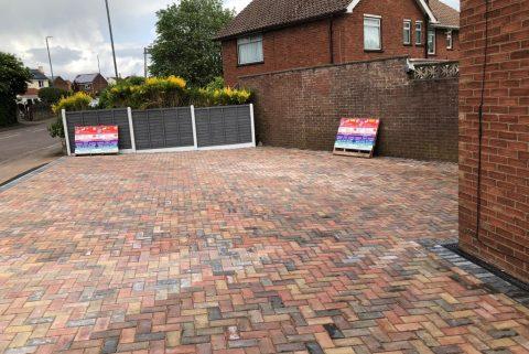 New Block Paving Driveway in Bishopsworth, Bristol