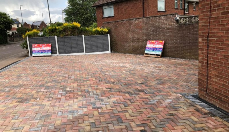 New Block Paving Driveway in Bishopsworth, Bristol