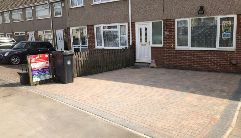 New Brindle Block Paving Driveway in Bristol