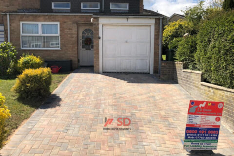 Block Paved Patio and Driveway in Bristol
