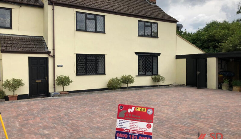 New Block Paved Driveway in Iron Acton, Bristol