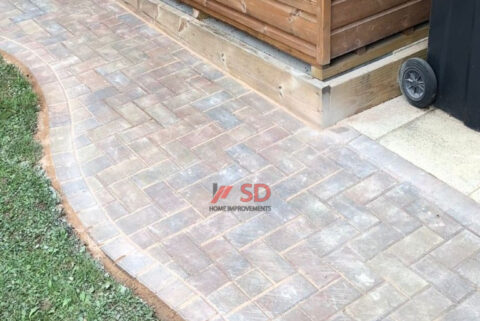 Examples of Our Block Paving Projects in Longwell Green