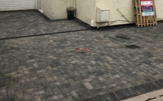 Driveway with Winter Blend Block Paving in Whitchurch, Bristol