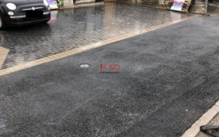New Block Paved Driveway with Dropped Kerb in Longwell Green, Bristol